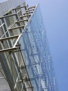 SUSPENDED CURTAIN WALL