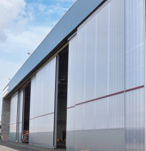 Aircraft-hangar-door